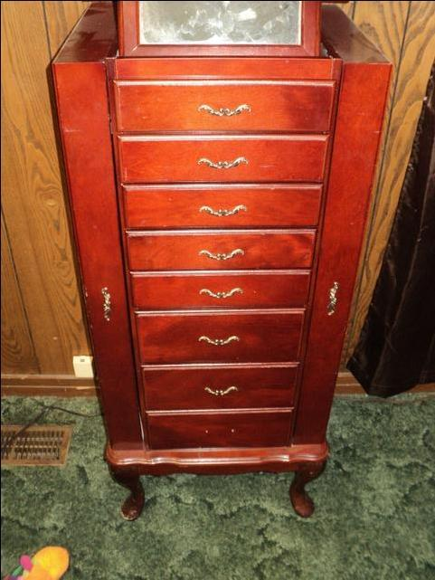 Old English Jewelry Armoire NexTech Classifieds
