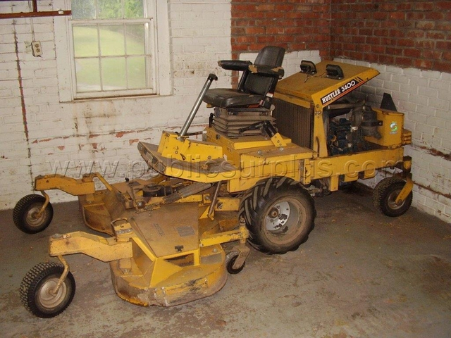 Used hustler 3400 mower