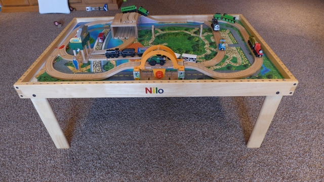 Thomas The Train Set and Nilo Table - Nex-Tech Classifieds. Thomas The Train Set And Nilo Table Nex Tech Classifieds & Astonishing Train Table Set Thomas Pictures - Best Image Engine ...