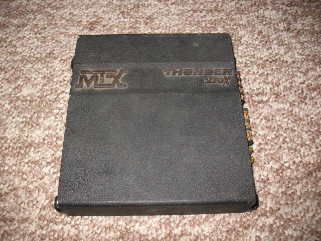 mtx thunder 275x 2 channel amp nex tech classifieds rh nextechclassifieds com MTX Jackhammer MTX Road Thunder