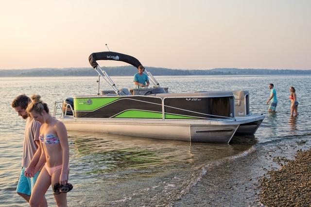 Image result for 2019 suncatcher pontoon