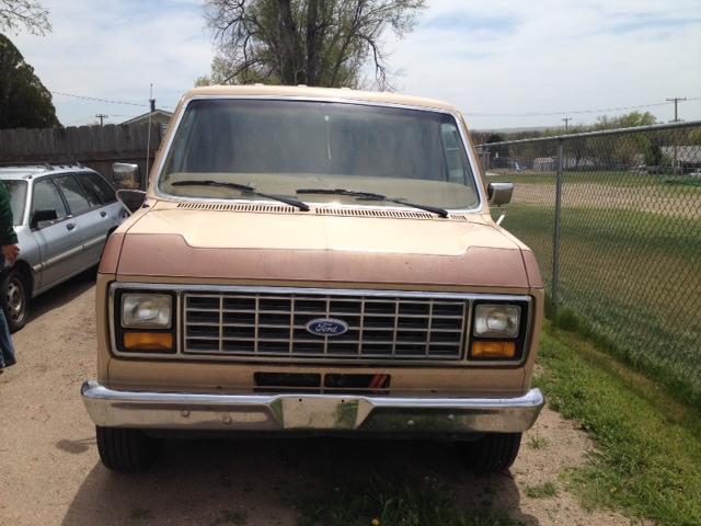 1984 Ford Econoline Conversion Van For Sale