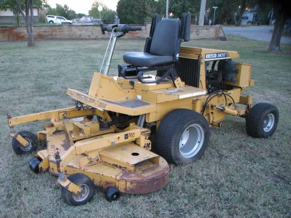 Hustler 4500 mower