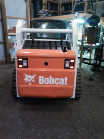 Bobcat t190 compact track loader nex tech classifieds for Bobcat t190 drive motor