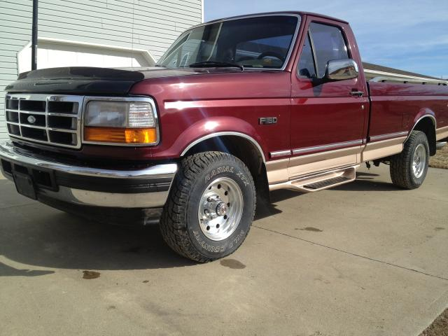 1996 Ford F150 4x4 105k Mi Eddie Bauer Ed Nice Nex