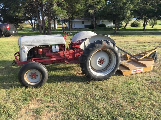 8n Ford With King Kutter Brush Hog Nex Tech Classifieds