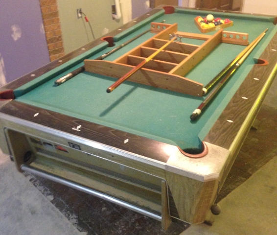 SOLDFisher Pool Table Return Ball X NexTech Classifieds - Fischer pool table