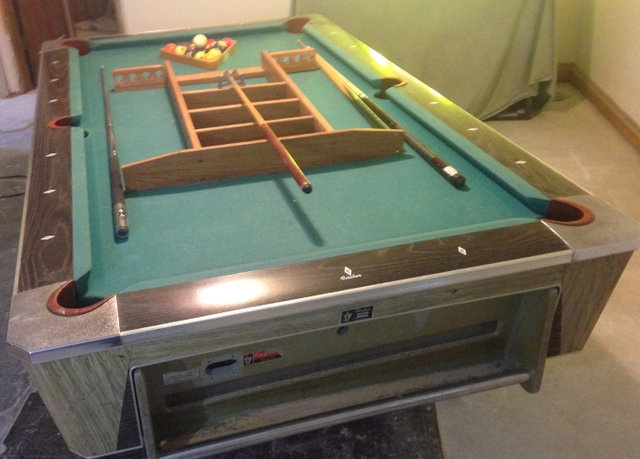 SOLDFisher Pool Table Return Ball X NexTech Classifieds - Regent pool table