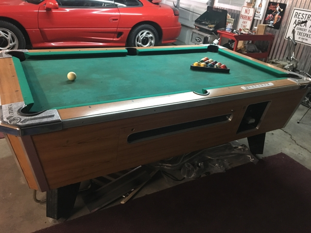 Valley Ft Coin Operated Pool Table NexTech Classifieds - Valley coin operated pool table