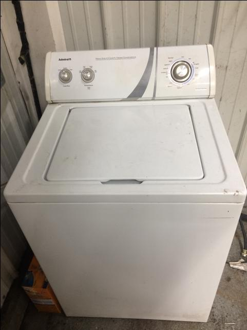 Admiral Washing Machine Nex Tech Classifieds