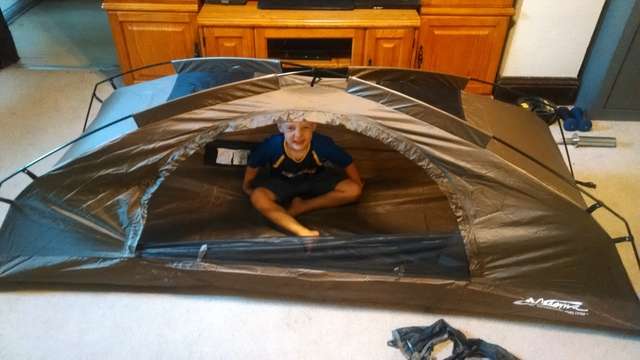 & Catoma stealth tent - Rainbow Classifieds