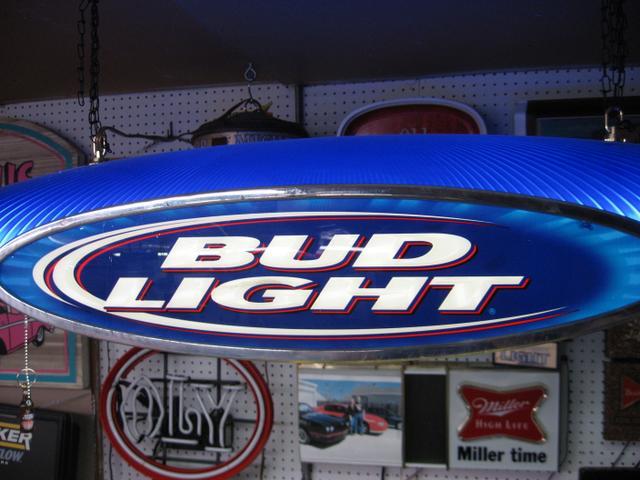 Bud Light Pool Table Sign Designs