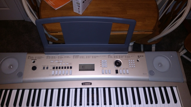 Yamaha ypg 235 portable grand piano excellent condition for Yamaha ypg 235 manual