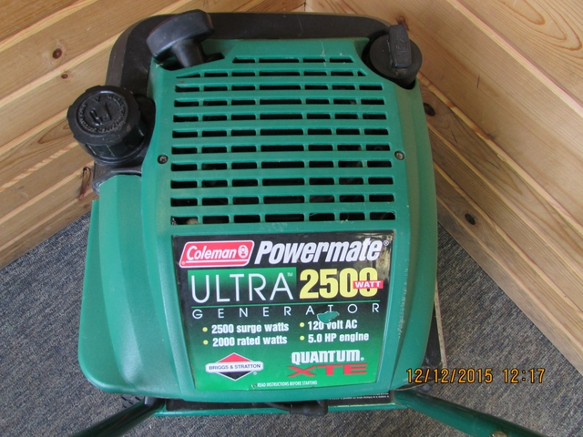 Coleman powermate generator 2500 Manual