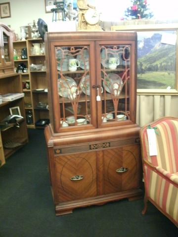 1930's WATERFALL CHINA CABINET - Nex-Tech Classifieds