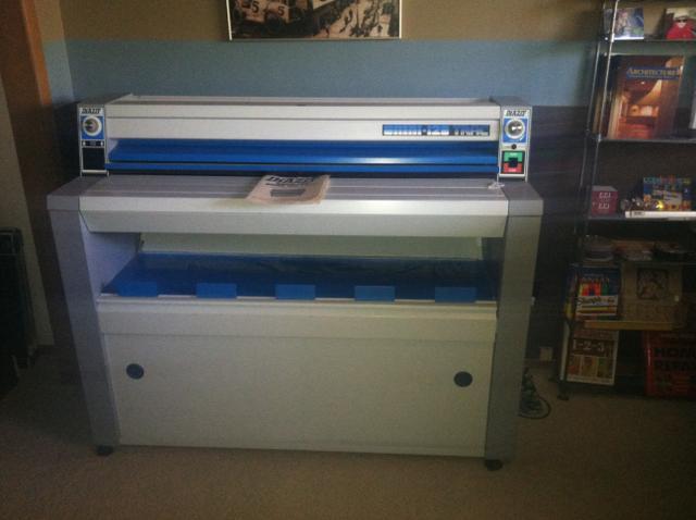 Blueprint machine diazit omni 120 trac w console nex tech contact seller malvernweather Gallery