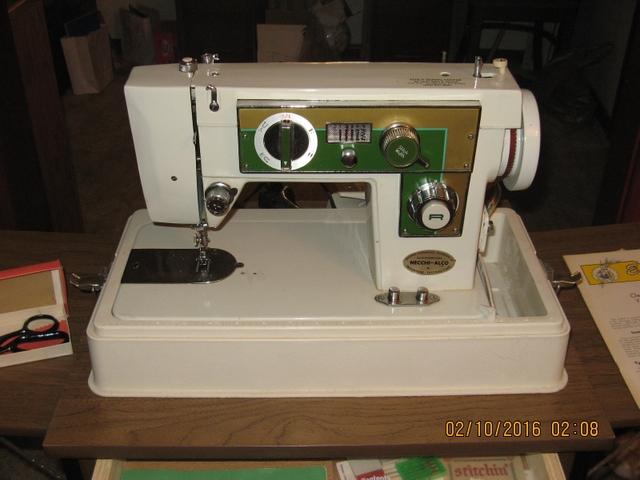 Necchi Alco Model 800 Sewing Machine Nex Tech Classifieds