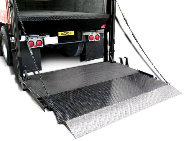 Maxon Lift Gate For Semi Truck Box Quot Lower Price Quot Nex Tech