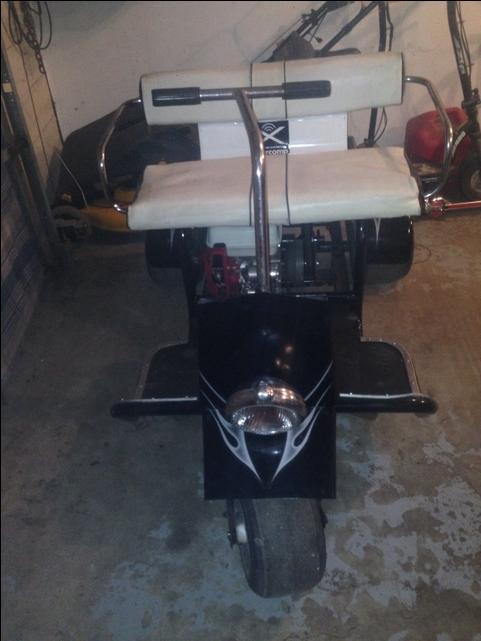 1962 Par Pony Golf Cart Nex Tech Classifieds