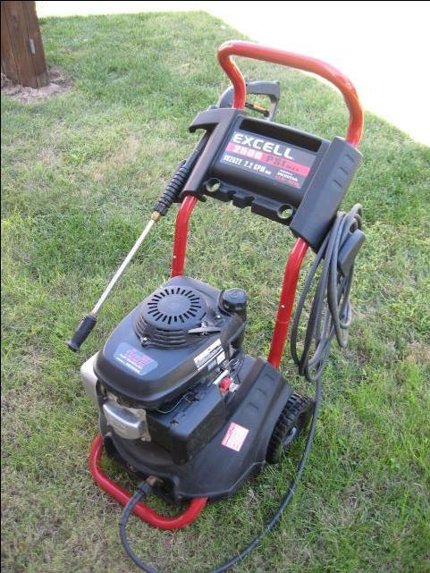 Excell Xr2600 pressure washer engine Manual