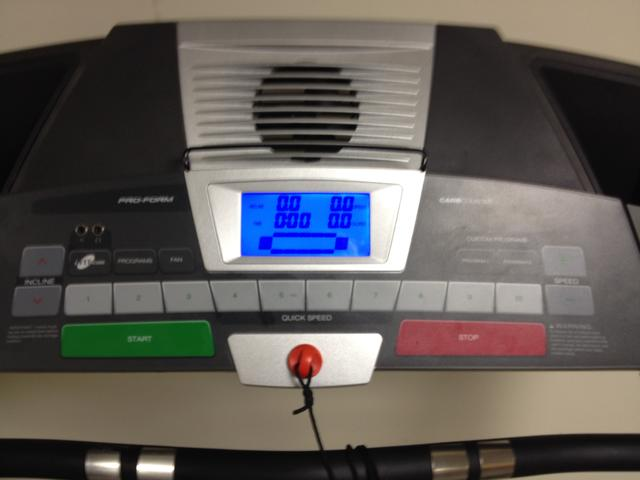 Proform Treadmill 542e user manual