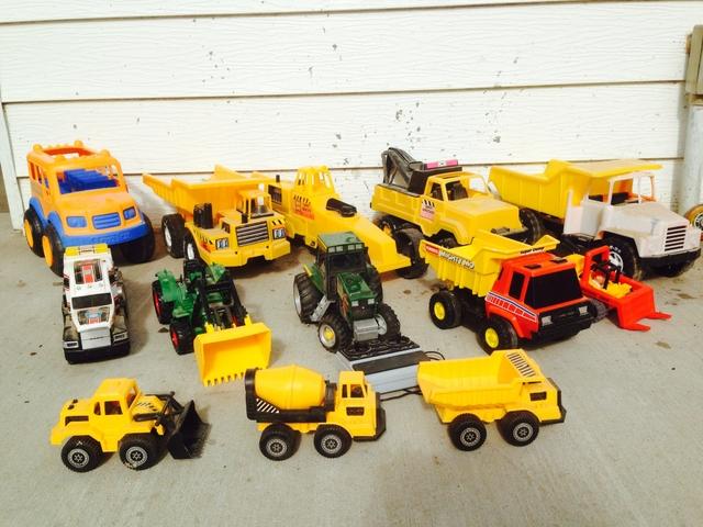 Tonka Construction Toys For Boys : Little boys dream tonka construction tractor toys nex tech