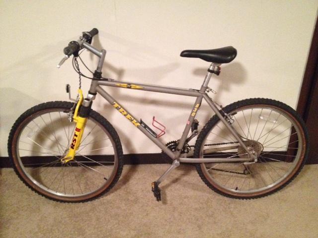 Trek Mountain Track Xc 830 Rst Bike Very Nice Nex Tech Classifieds