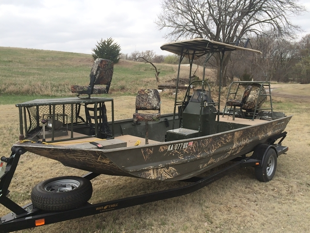 War Eagle 1860 Hunting/Fishing/Bow Fishing Boat - Nex-Tech Classifieds