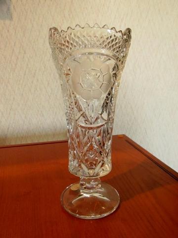 Beautiful Crystal Vase Nex Tech Classifieds