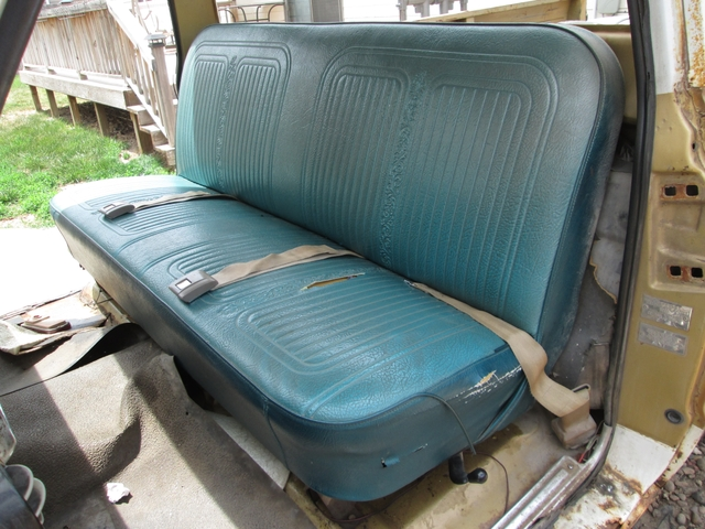 1967 1972 Chevy C10 Pickup Truck Blazer Bench Seat Nex