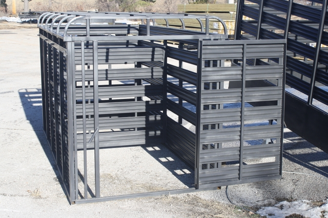 Used 2015 Slide In Cattle Racks For A Utility Trailer