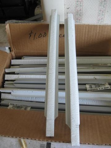 100 ea aluminum h splice 12 woodgrain for hardboard for Lp smartside shakes coverage