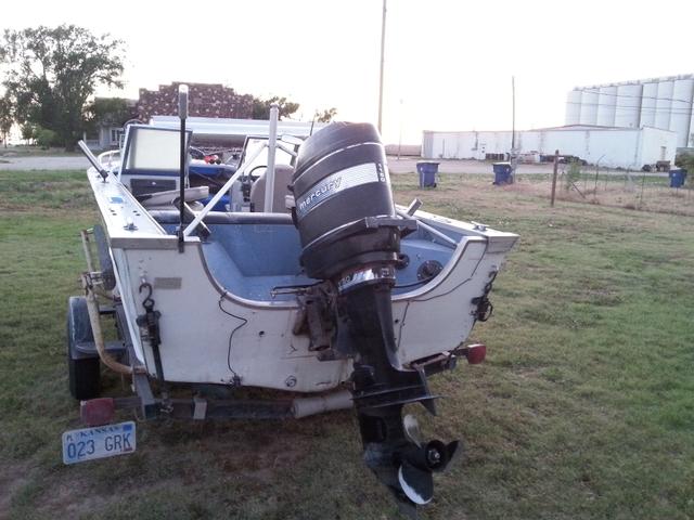 1982 BlueFin 16ft Aluminium outboard 115 hp mercury inline 6 - Nex-Tech Classifieds