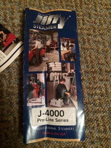 Jiffy J 4000 Steamer Ptci Classifieds