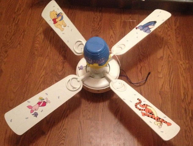 Winnie the pooh ceiling fan nex tech classifieds contact seller mozeypictures Gallery
