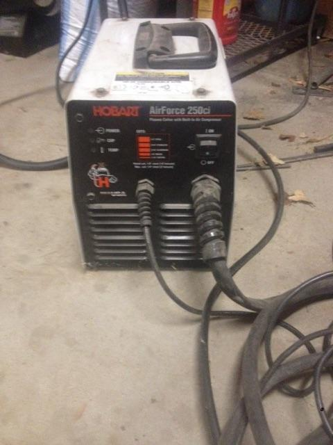 hobart plasma cutter hobart 250ci plasma cutter tct classifieds 10768