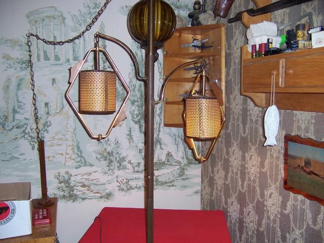 Retro wicker floor lamp 8 ft works nex tech classifieds for 8 ft floor lamp