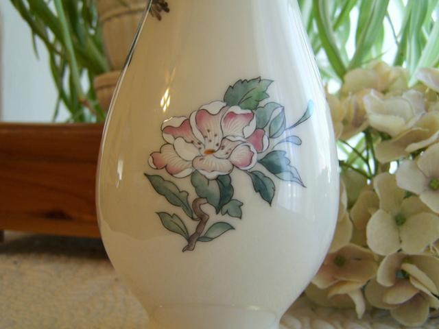 Vintage Lenox Serenade Porcelain China Bud Vase 24k Gold Nex Tech