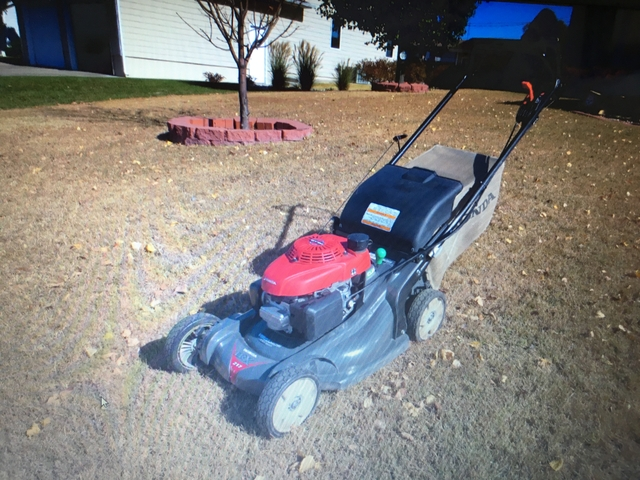 honda lawn mower for sale nex tech classifieds. Black Bedroom Furniture Sets. Home Design Ideas