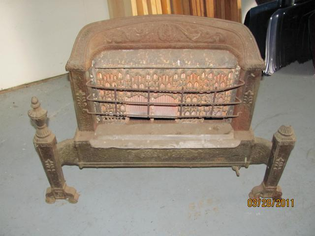 Antique Gas Stove And Misc Fire Brick Price Reduced