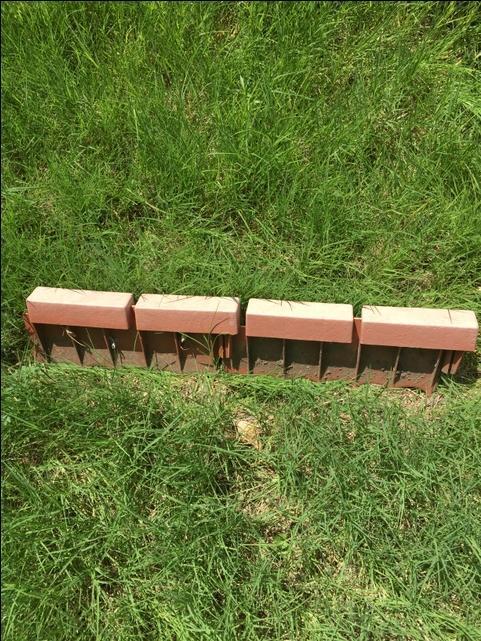 Red Brick Garden Edging - Garden Inspiration
