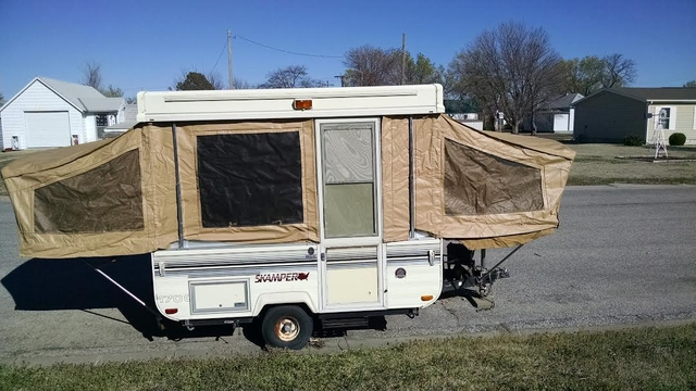 1989 skamper pop up camper