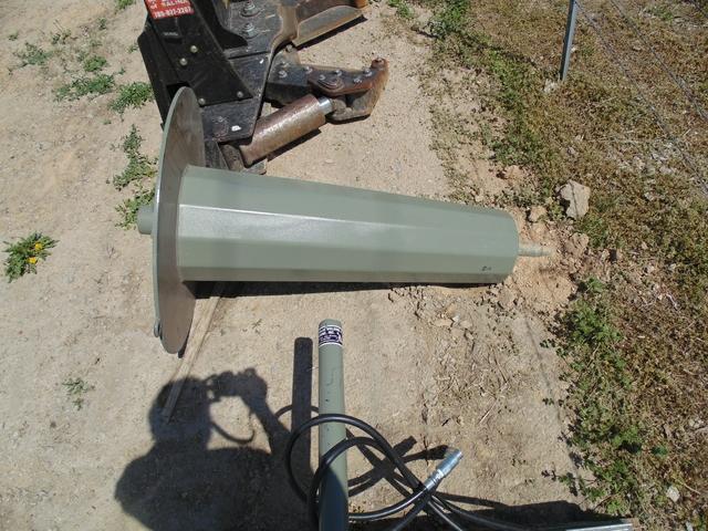 Tornado Skid Steer Loader Barb Wire Roller Must See