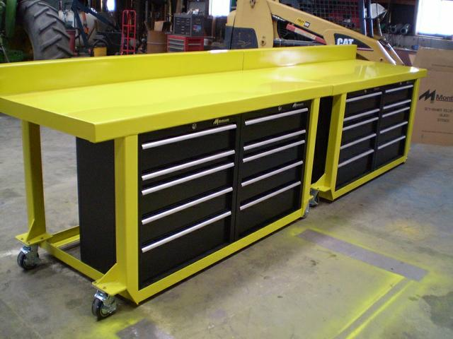 Work BenchTable Tool Box Custom Built Nex Tech