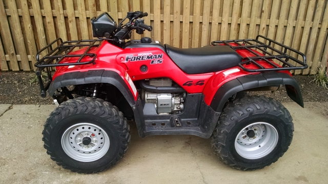 runs great but sudden won't at is same dealerships use have tranny that  won't out neutral  2000 honda foreman 400 wiring diagram parts illustration