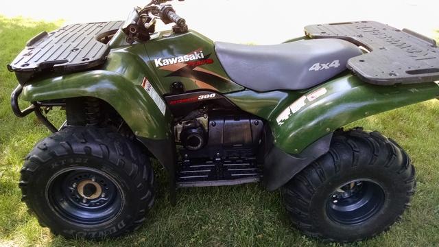 2000 Kawasaki Prairie 300 4x4 Atv Tct Classifieds