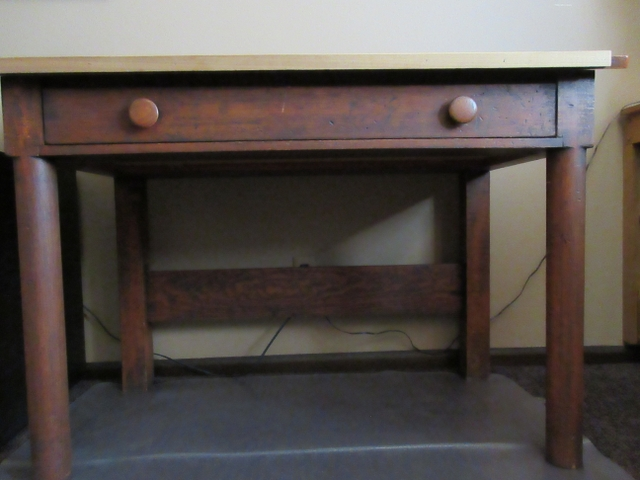 Contact Seller - ANTIQUE TEACHER'S DESK - Nex-Tech Classifieds