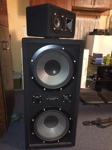 One Pair Of Big Speakers Nex Tech Classifieds