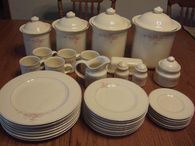 Contact Seller & Pfaltzgraff Trousseau Dinneware Set-retired pattern - Nex-Tech ...
