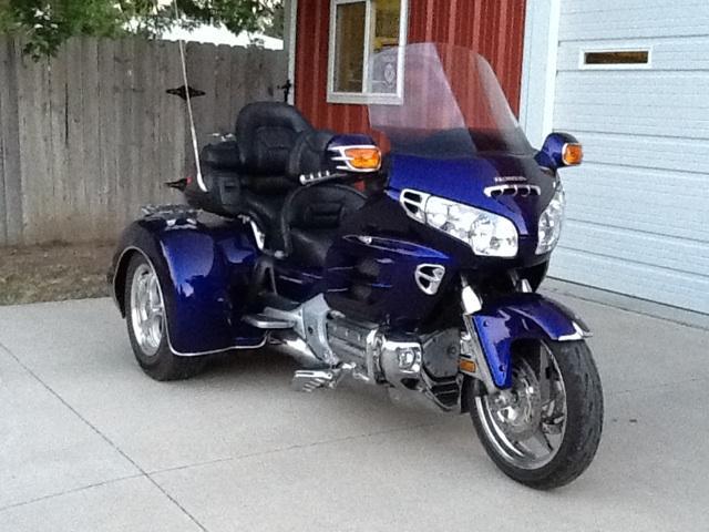 2003 Honda Goldwing Trike with 2005 Champion kit - Nex ...